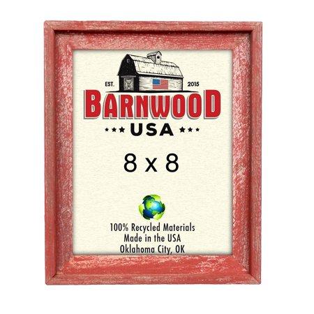 BarnwoodUSA Signature Collage Frame - 100% Up-Cycled Genuine Reclaimed Wood (3-4x4, Weathered Gray) Wood Signature Frame
