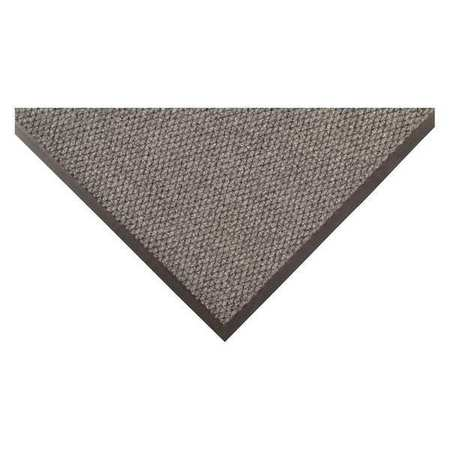 Carpeted Entrance Mat,Gray,2ft. x 3ft.