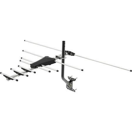 GE Pro Outdoor Yagi Antenna, 70 Mile Range, VHF/UHF Channels, 33685