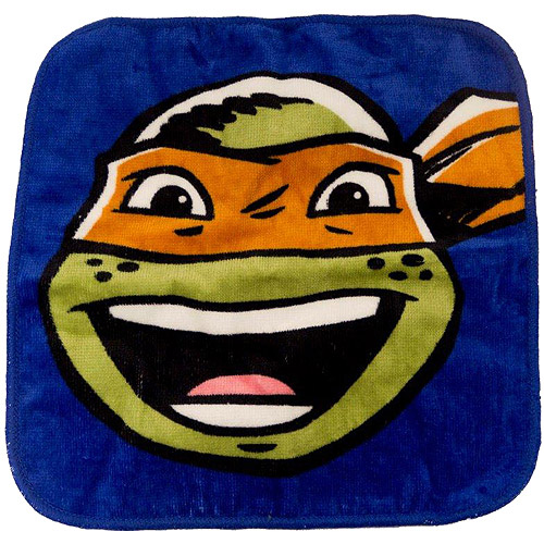 Nickelodeon Teenage Mutant Ninja Turtles 6-Pack Washcloth Set