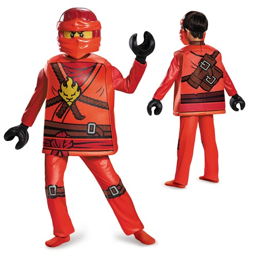 Brand New Ninjago Lego Jay Deluxe Child Costume