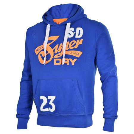 finest selection 05862 0b252 Superdry Men's Cali Tails Entry Pullover Hoodie