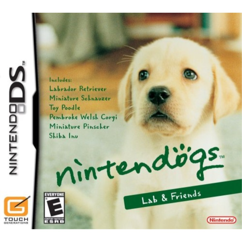 Nintendogs: Labs & Friends (DS)