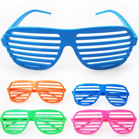 Vintage Shutter Shades Sunglasses Retro Glasses Party Supplies Novelty Fashion - Fashion Party