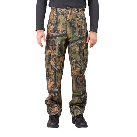 Trail Crest Men's Camo 6 Pocket Cargo Hunting / Hiking Pants Trousers, 3X