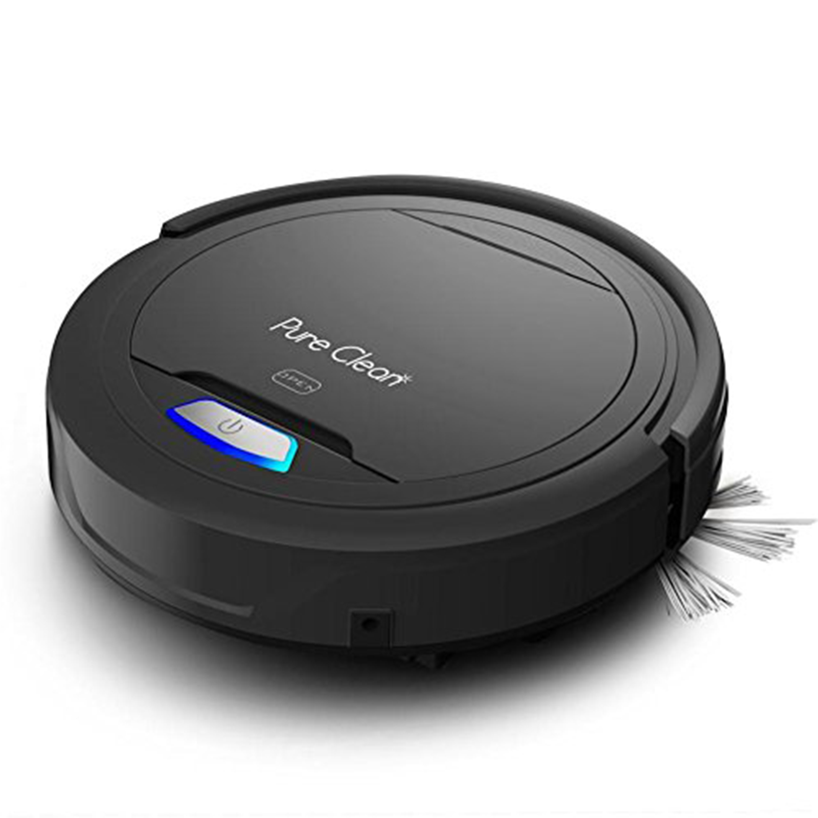 Pyle PureClean Automatic Robot Vacuum Cleaner; HEPA Filter Pet Hair Allergies Friendly