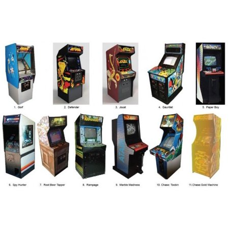 Retro Arcade Games Midway Classic Arcade Mystery Box [24 packs]