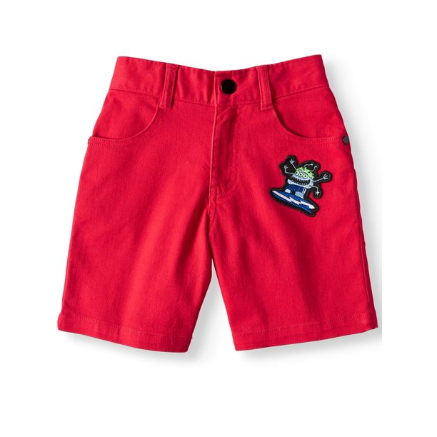 365 Kids from Garanimals Stretch Twill Shorts with Patch (Little Boys & Big Boys)