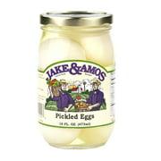 Jake & Amos Pickled Eggs 16 oz. (3 Jars)