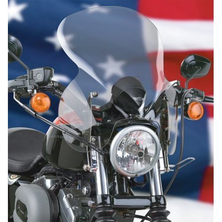 - National Cycle Stinger Quick Release Light Tint Windshield for Harley Davidson