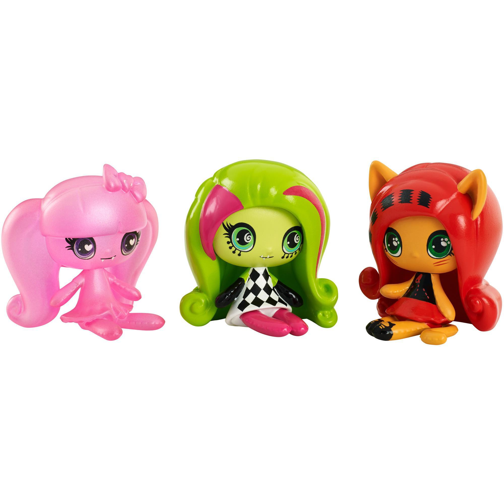 Monster High Minis, 3 Pack by MATTEL INC.