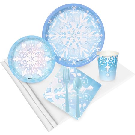 Snowflake Winter Wonderland Party Pack for 24](Ideas For Winter Wonderland Theme)