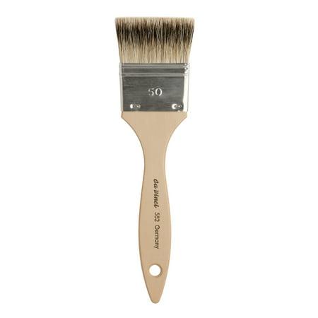 da Vinci Brush Pure Badger Hair Oil Brush, Mottler, 50