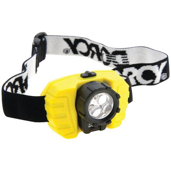 3-LED 28-Lumen Headlamp