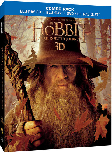 The Hobbit: An Unexpected Journey (Blu-ray + Blu-ray + DVD) by NEW LINE