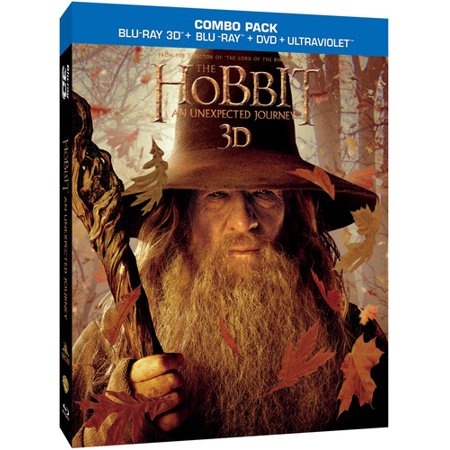 The Hobbit: An Unexpected Journey (Blu-ray + Blu-ray + DVD)