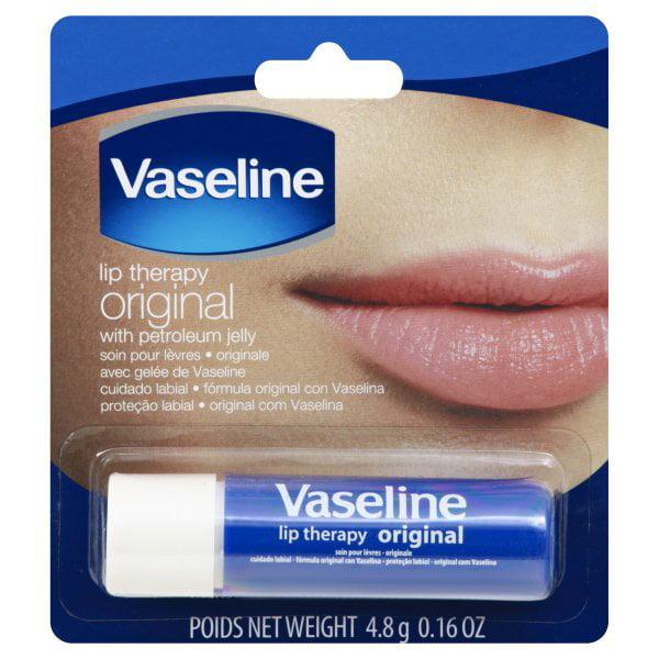 Vaseline Lip Therapy Original Lip Balm 0 16 Oz Walmart Com Walmart Com