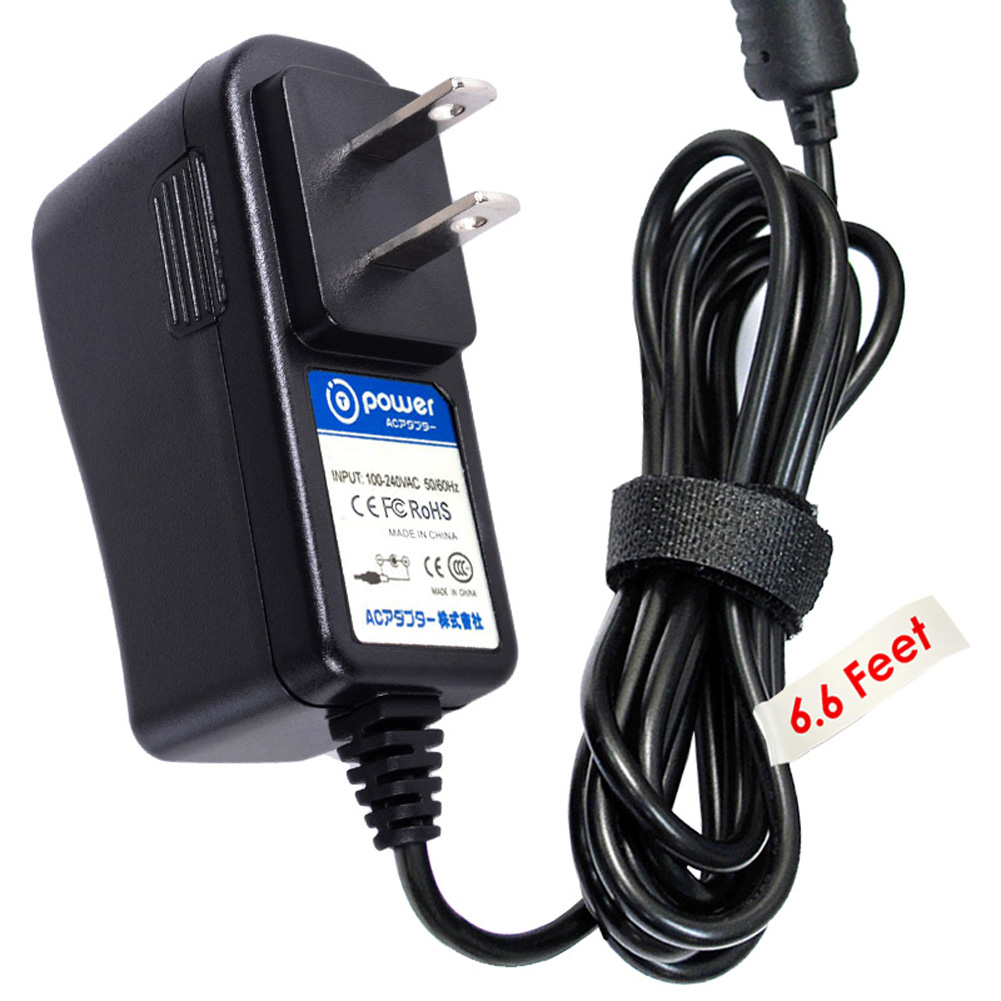 T-Power ( TM ) (6.6ft Long Cable) Ac Dc adapter Charger forModel BLJ5W060050P-U SCE0591000P BLJ5W059100P 5ESP 5E-AD059100-U 5E-AD060050-U 5E-AD 060050-U Motorola Baby Monitor I.T.E. (fit both Baby &