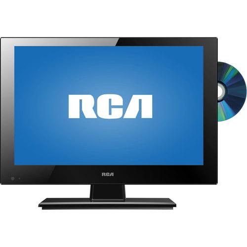 RCA DECG13DR 13 3 TV DVD LED HDTV AC DC POWER COMBO
