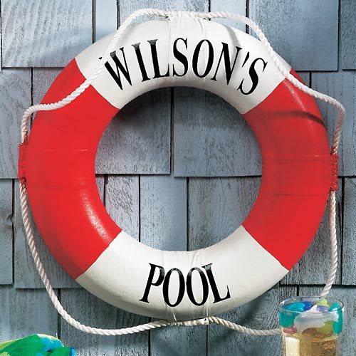 Personalized Family Pool Ring