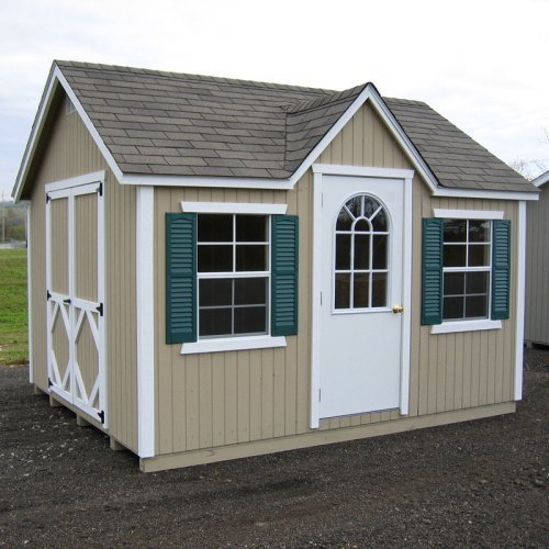 Little Cottage 12 x 8 ft. Classic Wood Cottage Panelized Garden Shed