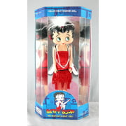 "Betty Boop 12"" Flapper  Dress Doll  w/ Doll Stand, New Gift Cartoon TV By Precious Kids 31129 bendable leg"