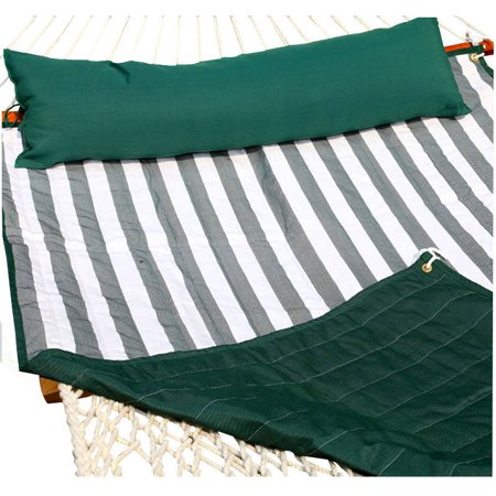 Image of Amber Home Goods Hammock Pad Green/White