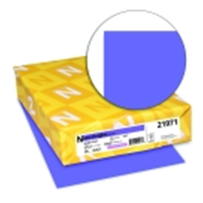 Astrobrights 8.5 x 11 in. Paper Card Stock - Gravity Grape, Pack 250