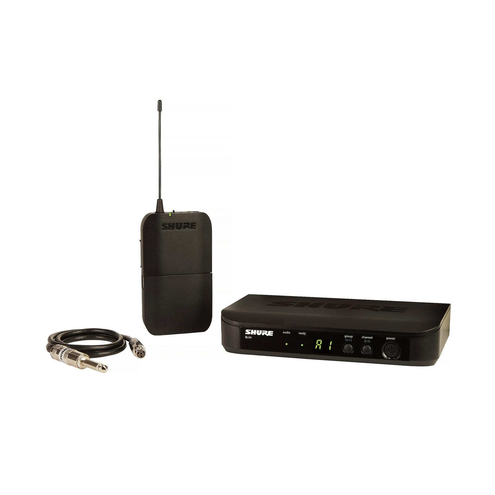 Shure BLX14 H10 | WA302 Bodypack Instrument Wireless System by