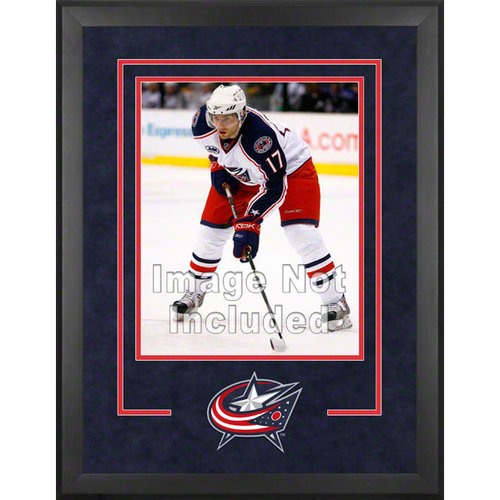 NHL - Columbus Blue Jackets Deluxe 16x20 Vertical Photograph Frame
