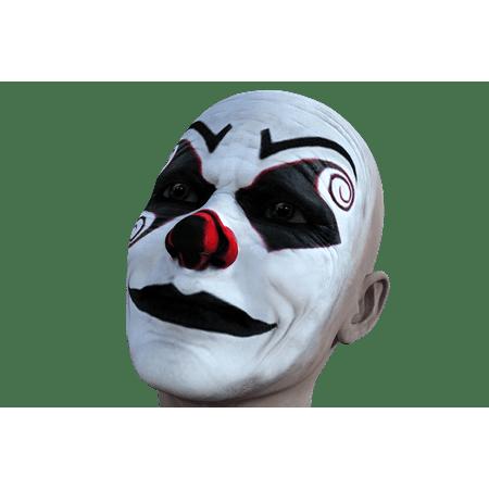Canvas Print Expression Clown Halloween Face Sad Spooky Stretched Canvas 10 x 14 - Halloween Expressions