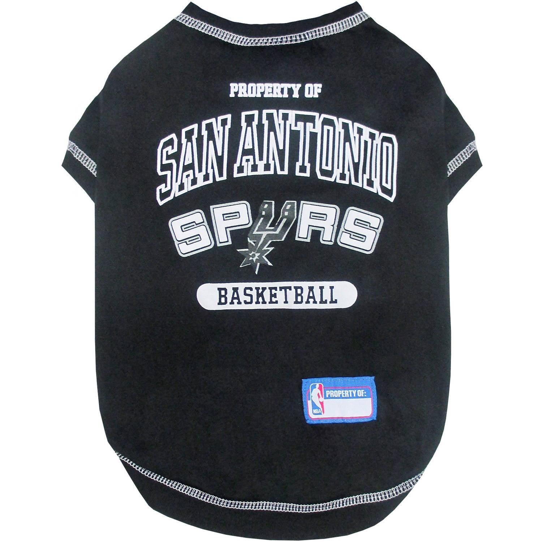 Pets First NBA San Antonio Spurs Pet T-shirt, Assorted Sizes