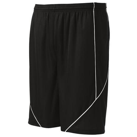 Sport-Tek Men's Athletic Reversible Spliced Mesh Short ()