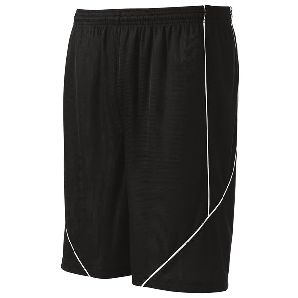 Sport-Tek Men's Athletic Reversible Spliced Mesh Short