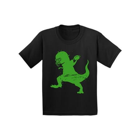 Awkward Styles American Football Dinosaur Toddler Shirt Dinosaur Shirt for Toddler Boy American Football Fans Football Outfit for Toddler Girl Football Shirt for Kids Dinosaur Gifts for Toddler - Kids Football Outfits