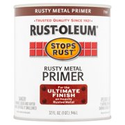Rust-Oleum Stop Rust Rusty Metal Primer for the Ultimate Finish On Heavy Rusted Metal, 32 fl oz.