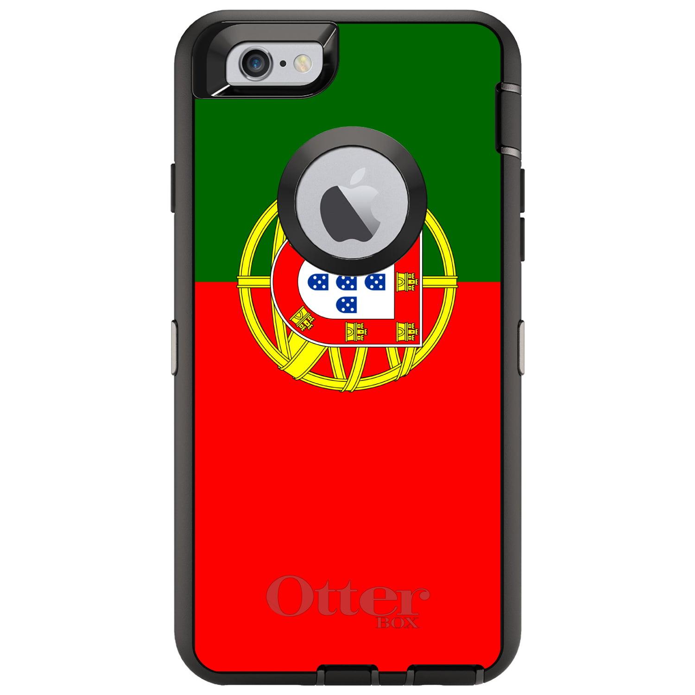 "CUSTOM Black OtterBox Defender Series Case for Apple iPhone 6   6S (4.7""..."