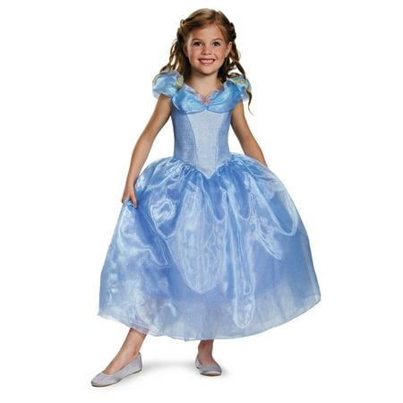 Disney Princess Cinderella Movie Girls Dress Costume deluxe - Disney Costumes Girls