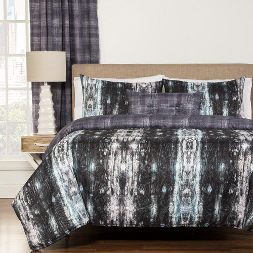Siscovers Python 3 Piece Duvet Cover Set