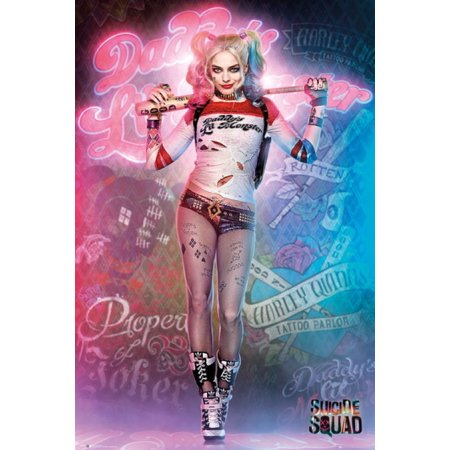 Suicide Squad Harley Harley Quinn Poster Poster Print