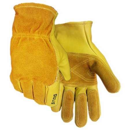 Golden Stag 240XL Men's Premium Grain Cowhide Leather Fencing Glove, X-Large (Golden Stag Gloves)