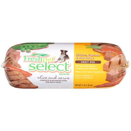 Fresh Pet Select Brand Dog Food: Adult Dogs w/Chicken