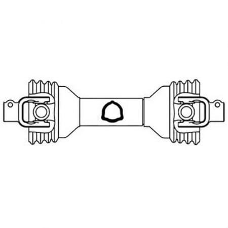 "Universal PTO Driveline 1-3/8"" 6, New, Edcor, John Deere, Drive-Line, Misc., Ecc1201, PM14006127"