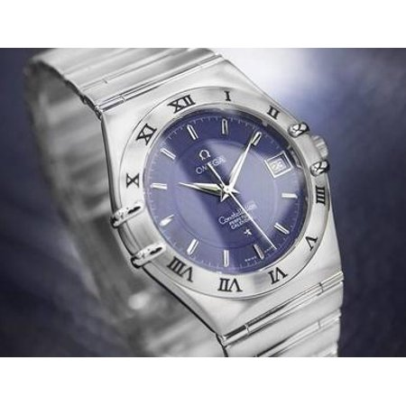 Omega Constellation Perpetual Calendar Quartz Mens Swiss c2000 Watch (Winding Omega Watch)