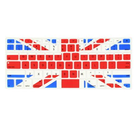 Unique Bargains UK Flag Laptop Computer Keyboard Skin Film Protector for Apple MacBook Air 13.3
