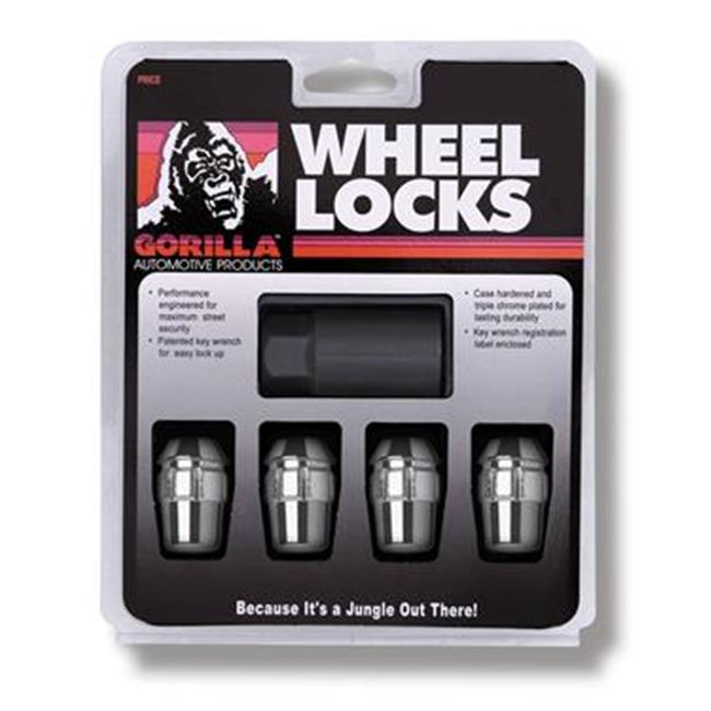 GORILLA 71631N Wheel Lock Acorn Lug Nut Lock 12 mm.  X 1. 5