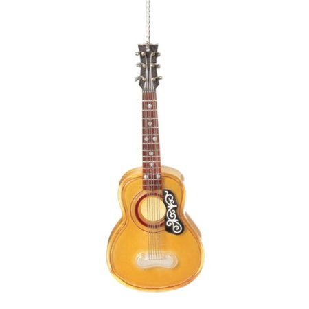 7 Gold Acoustic Guitar Christmas Ornament  Walmartcom