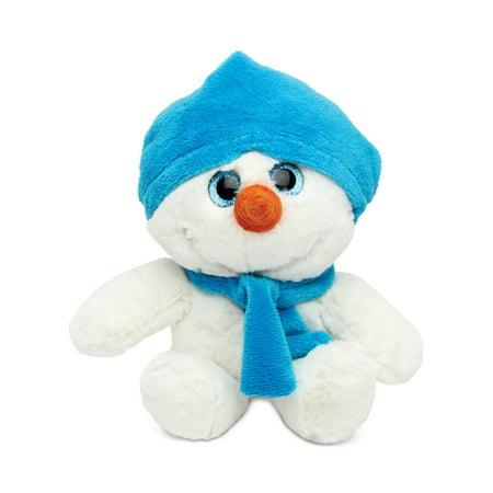 Super Soft Plush - Blue Snowman