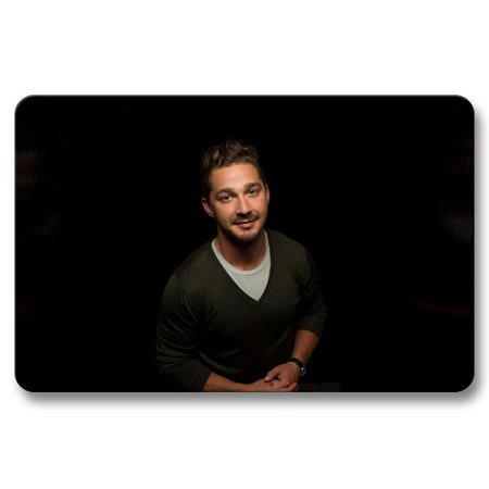 Deyou Shia Labeouf Doormat Outdoor Indoor Floor Mats Non Slip Bathroom Mats Size 18X30 Inch