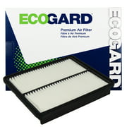 ECOGARD XA6124 Premium Engine Air Filter Fits Hyundai Sonata 2011-2014, Santa Fe 2010-2012, Sonata HYBRID 2015, Kia Optima 2011-2015, Sorento 2011-2013, (FRAM CA11116 , CA10881 Replacement)